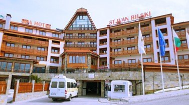 Bansko, St.Ivan Rilski Hotel & Spa: furnished studio with wonderful sight
