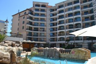 Karolina complex Sunny Beach, one bedroom apartment, pool view