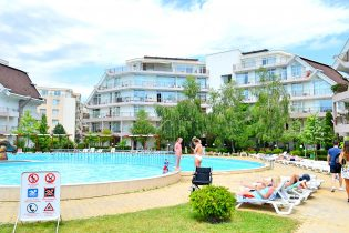 Furnished two bedroom apartment in Sun Village complex, Sunny Beach