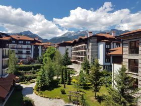 Bansko, Winslow Infinity: furnished studio apartment