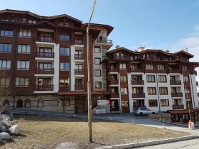 Panorama Resort, Bansko: Fully furnished one-bedroom apartment