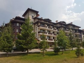 Furnished One bedroom apartment in Orbilux Aparthotel, Bansko