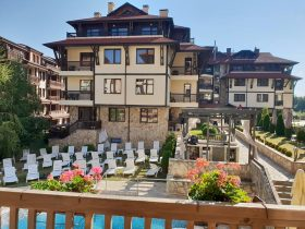 Maria Antoaneta Residence, Bansko: studio, 150 m from the ski lift